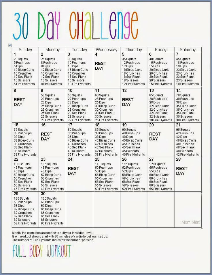 30 Day Challenge (Beginner Friendly) | Daraenicole With Printable 30 Day Ab Challenge