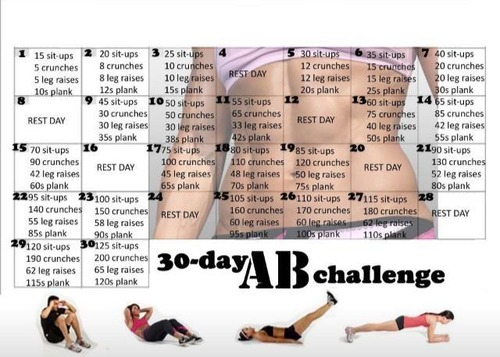 30 Day Challenges! | The Amazing Shrinking Woman With Regard To 30 Day Sit Up Challenge