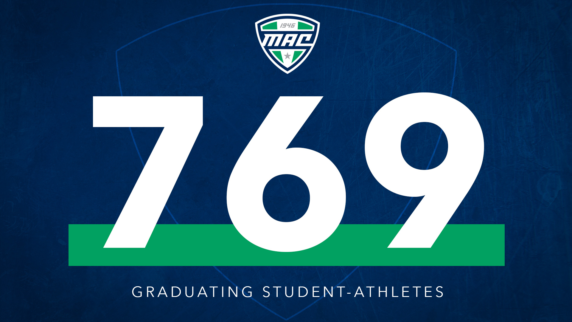 769 Mac Student Athletes Celebrate Graduation - Mid For Akron University Fall 2020 Schedule