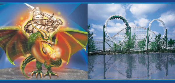 Adventureland Announces Dragon Slayer 4D Free Spin For Inside 2021 Calendar Six Flags Great Adventure