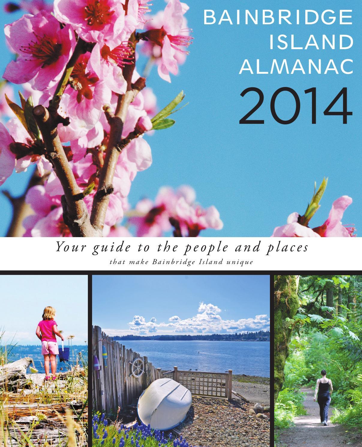 Almanacs - Bainbridge Island Almanac 2014Sound Intended For Baibbridge Island School District Calendar