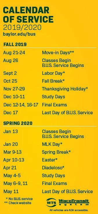 Baylor Fall 2020 Calendar In Montana State University 2020 Fall Calendar