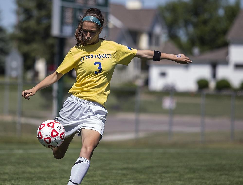 Bloomfield Hills Marian Girls Soccer Team Sheds Off 'Rust In Grand Rapids Public School Spring Break