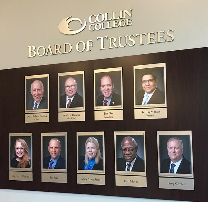 Board Of Trustees - Collin College Throughout Collin College Spring Calendar