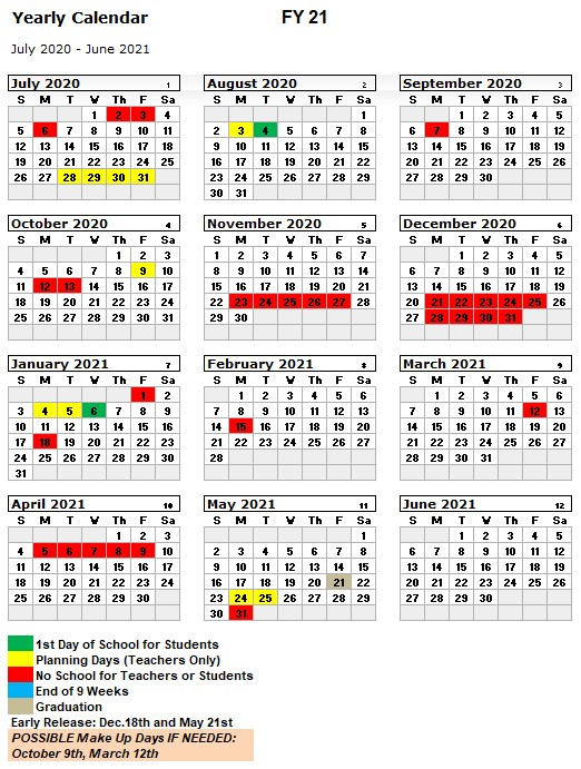 Brantley County Schools Calendar 2020 And 2021 intended for Georgia State 2020 School Calendar
