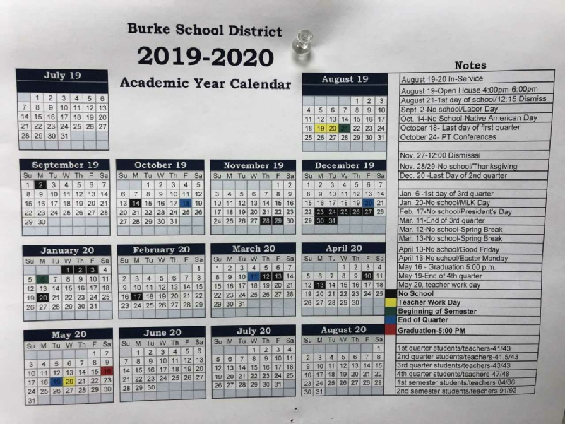 Burke Public School Pertaining To Doeschool Calendar 2014 2015