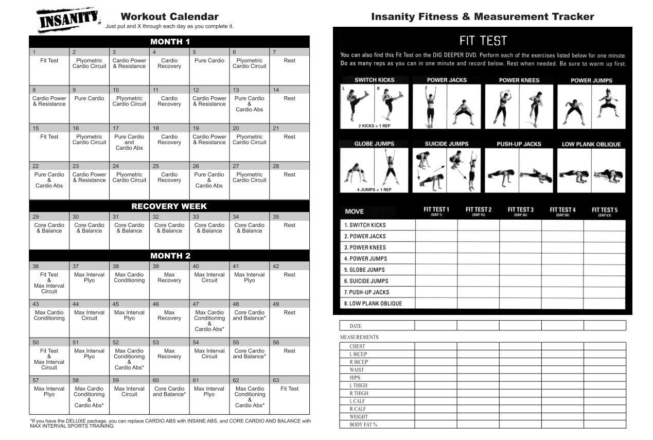 Calendar.fittestasurements (1269×855) (With Images Inside Official Slim In 6 Pdf Workout Calendar