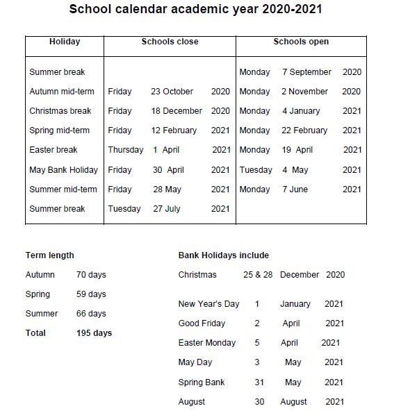Calendar   St Josephs Wetherby In St. Charles Community College Summer 2021 Calendar