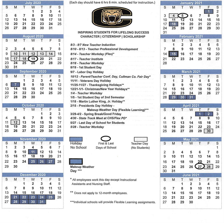Ccs Calendar / 2020 – 2021 Ccs Calendar Within Dorchester County District 2 2020 2021 School Calendar