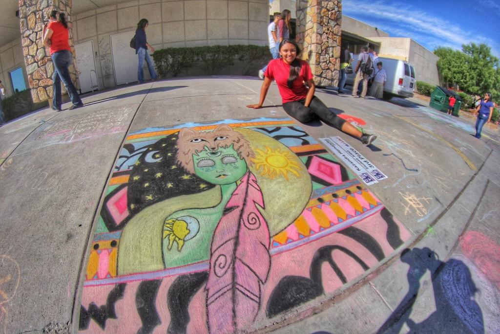 Chalk The Block Winner, Kazandra Hernandez – Aztec Gold Regarding El Dorado Court Calendar