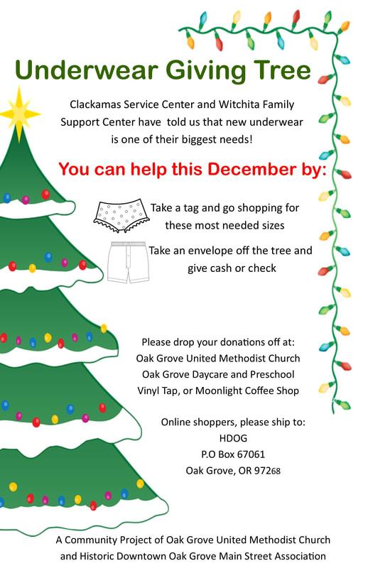 Christmas At Oak Grove - Oak Grove United Methodist Pertaining To Clackamas County Court Calendar