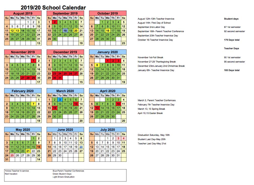 Clarkson Public Schools Calendar 2020 And 2021 For Las Cruces Public School Calendar 2021 20