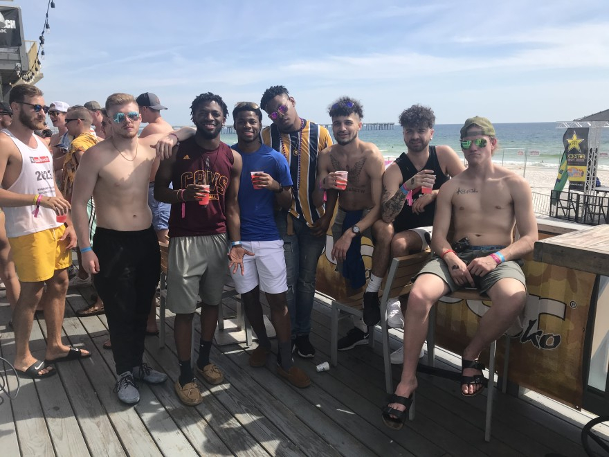 College Students Flock To Panama City Beach Amid regarding When Is University Of Akron Spring Break 2020