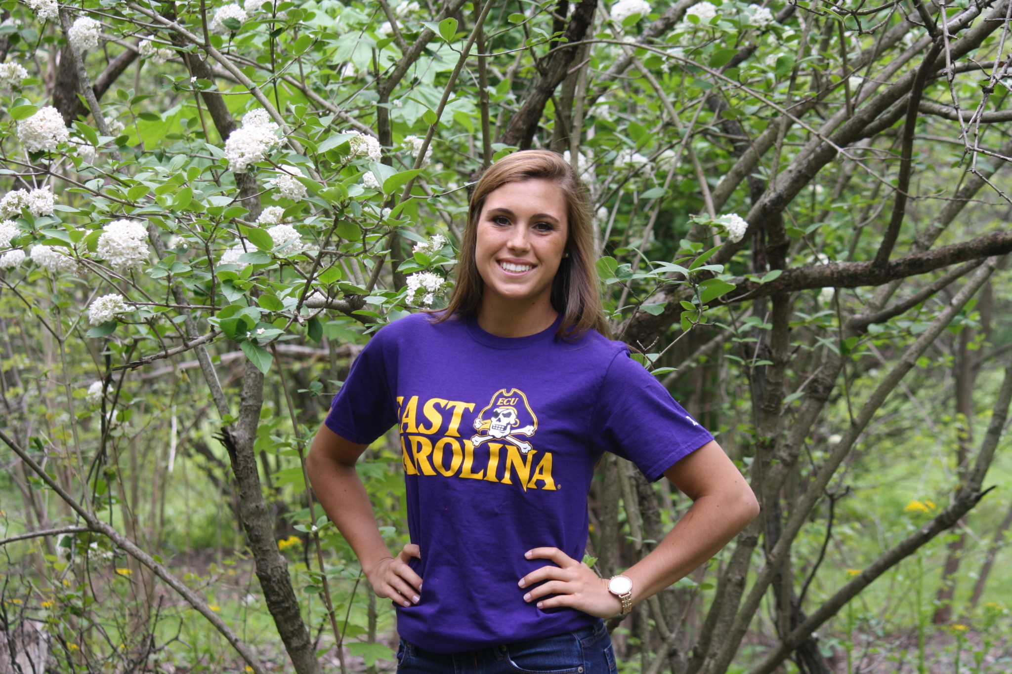 Congratulations To Senior Kayla Hudson! | Central Catholic With East Carolina Student Breaks 2021
