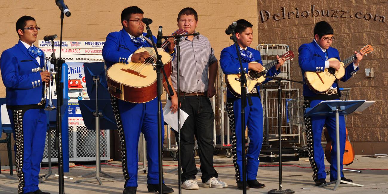 Del Rio Band Fundraiser 04.12 regarding Del Rio Highschool
