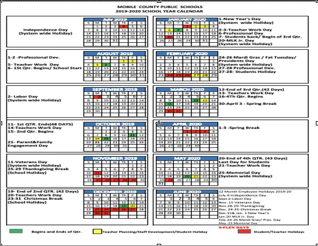最良かつ最も包括的な 12 Month School Calendar 2019 - ジャジャトメガ With Regard To Woodbridge Township School District Student Calender2021 2020 School Year