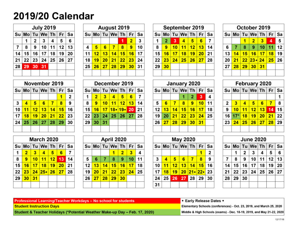 East Orange H S Calendar | Printable Calendar 2020 2021 Within St. Charles Community College Summer 2021 Calendar