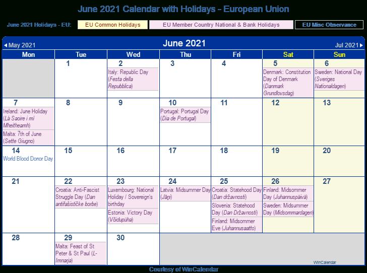 European Public Holidays 2021 Calendar | Printable March With Regard To Boise State University Calendar 2021
