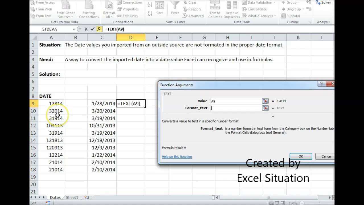 Excel Date Conversion - Youtube Pertaining To Convert Excel Sheet To Calendar