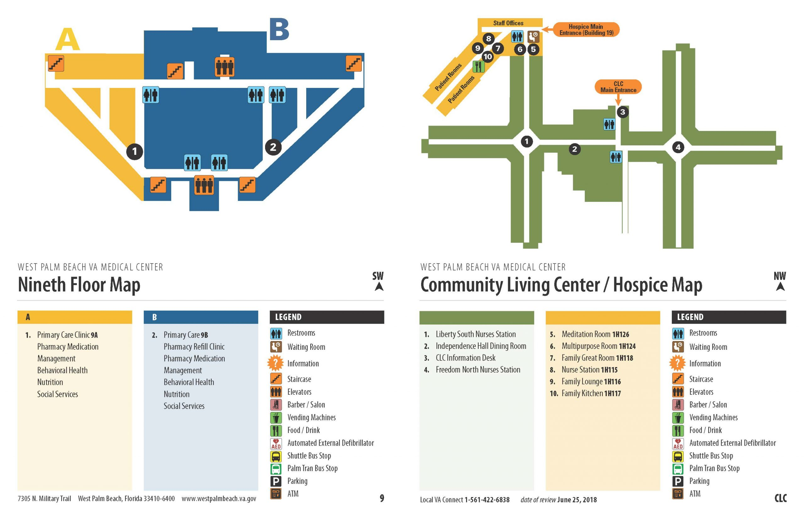 Facility Map – West Palm Beach Va Medical Center With Palm Beach State Calendar