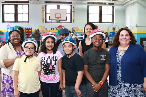 Family Foundation Distributes 98 Bicycle Helmets To 4Th Regarding Jersey City Board Of Education Calendar