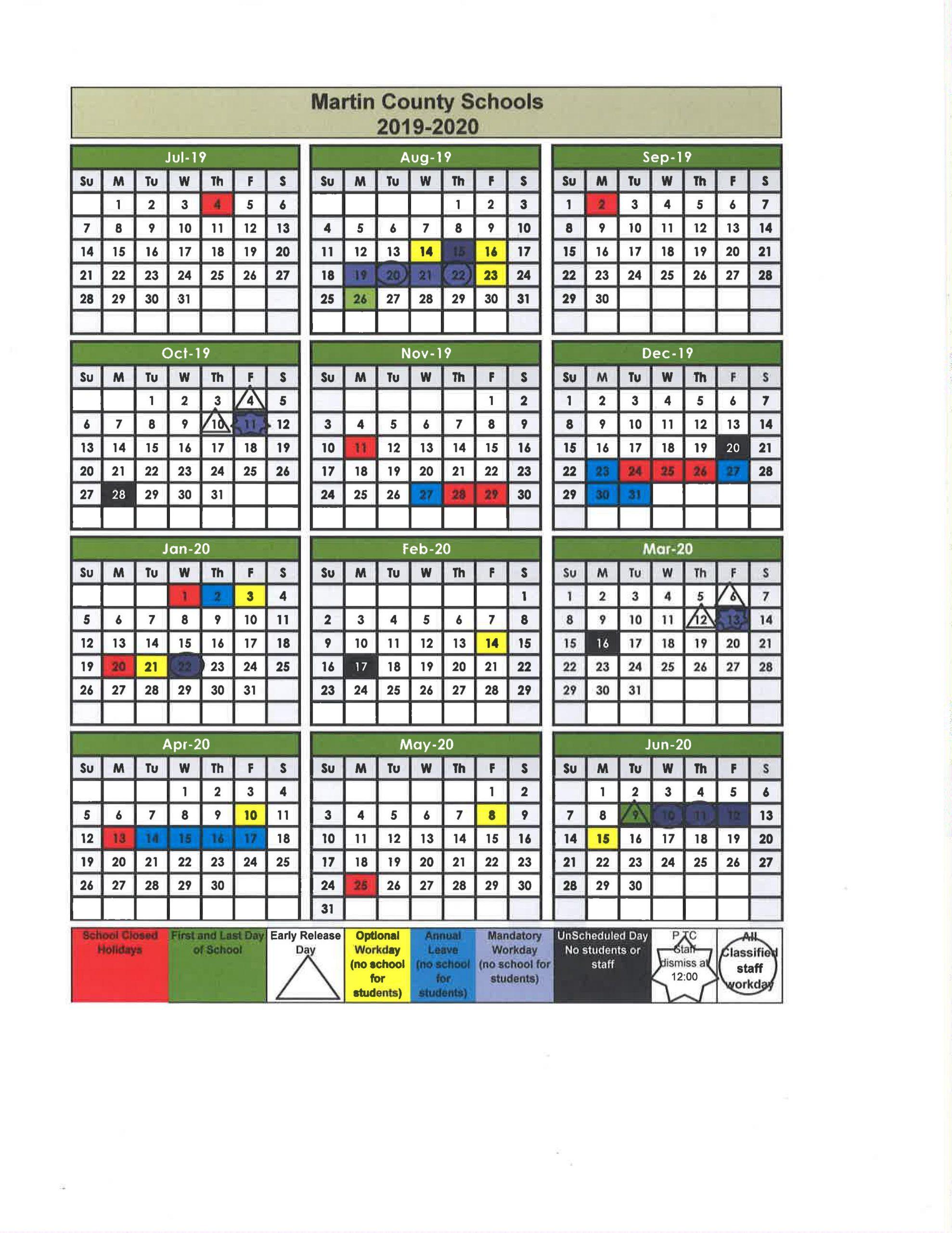 Fayette County Georgia Public School Calendar   Printable Within Georgia State 2020 School Calendar