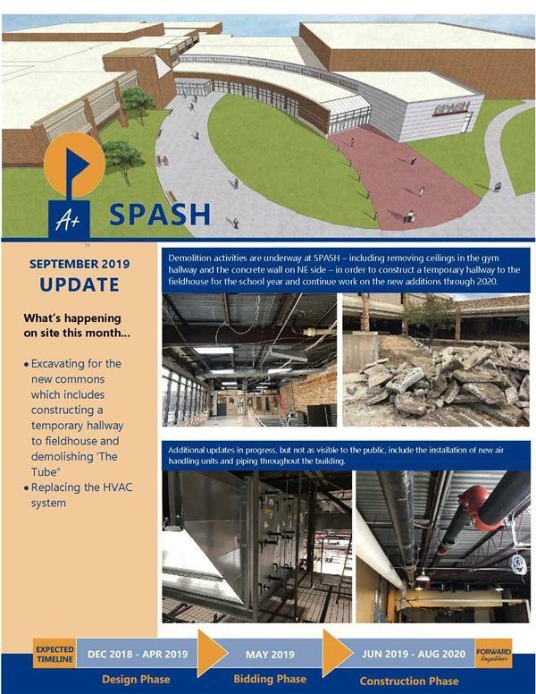 Forward, Together: Building Projects / Forward, Together Inside Stevens Point School District Calendar 2021