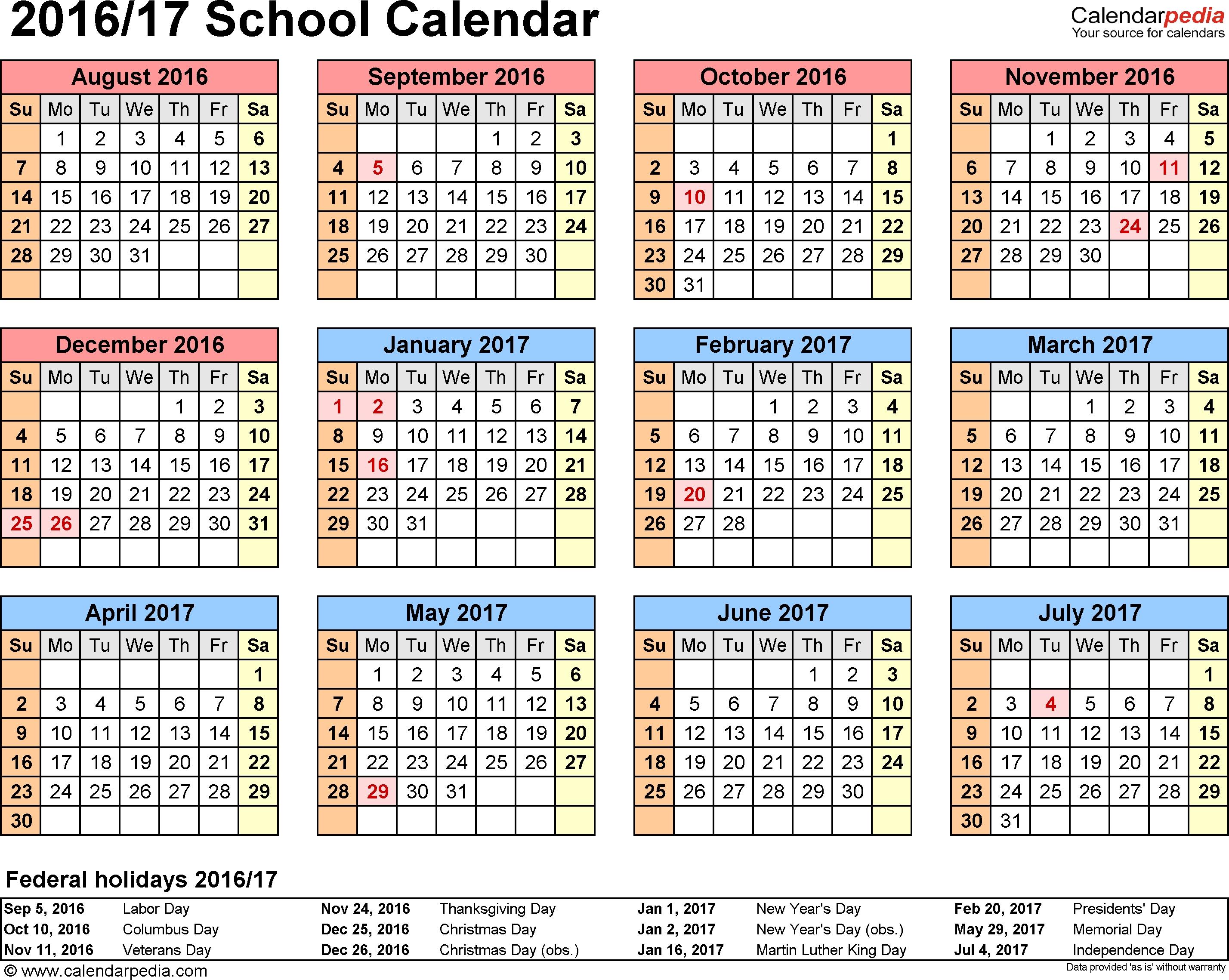 Free Printable Calendar 2020 17 | Month Calendar Printable With Boyertown School District Calendar 2020 17