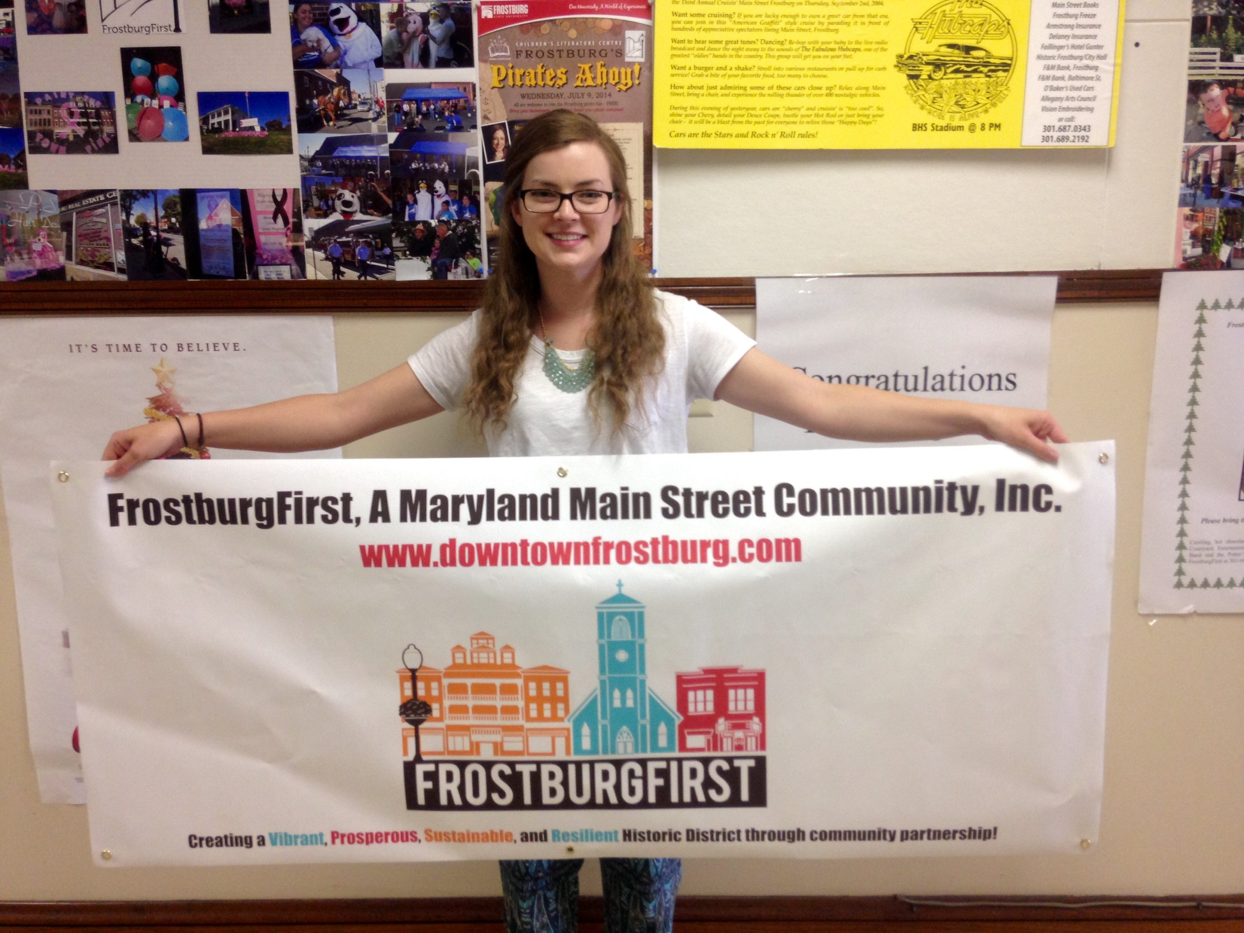 Frostburgfirst Chooses Fsu Student Megan Dignan's Logo With Regard To Frostburg School Calendar