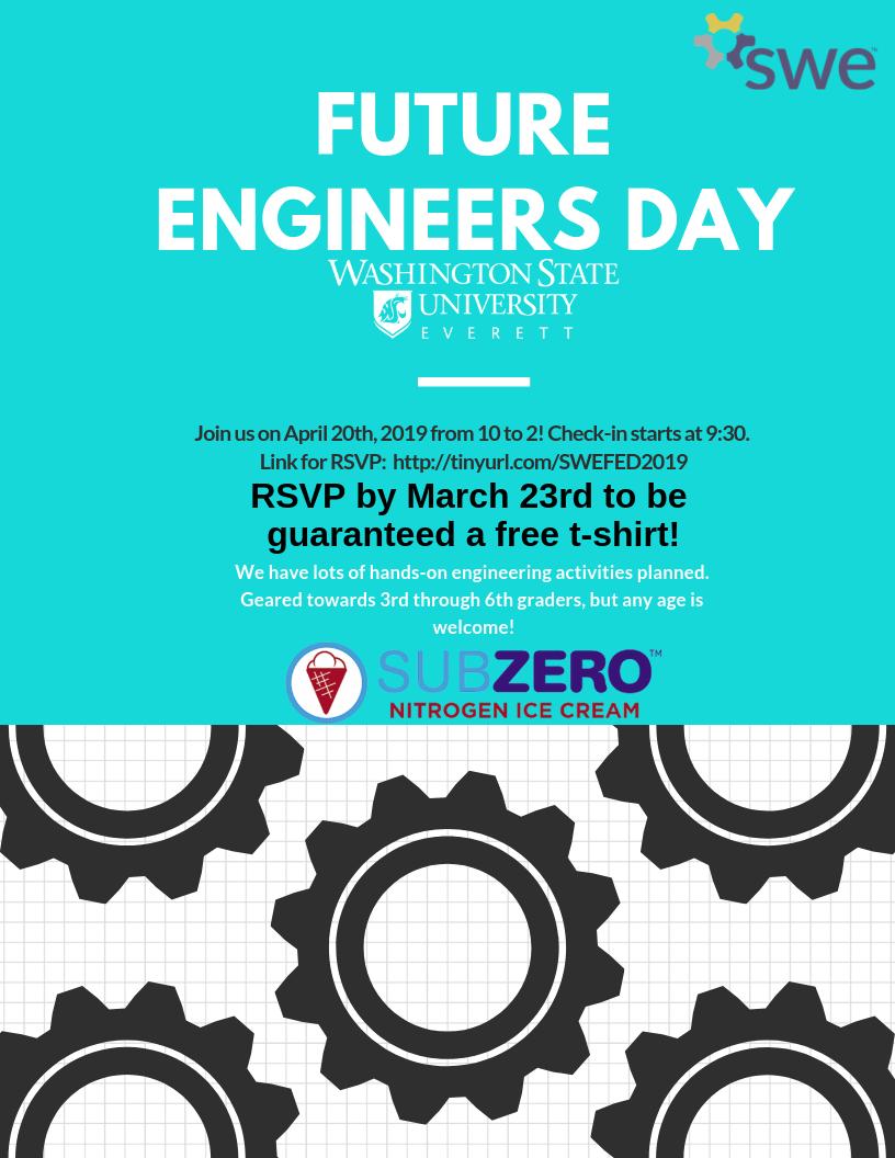 Future Engineers Day | Wsu Everett | Washington State Throughout Everett Cc Academic Calendar