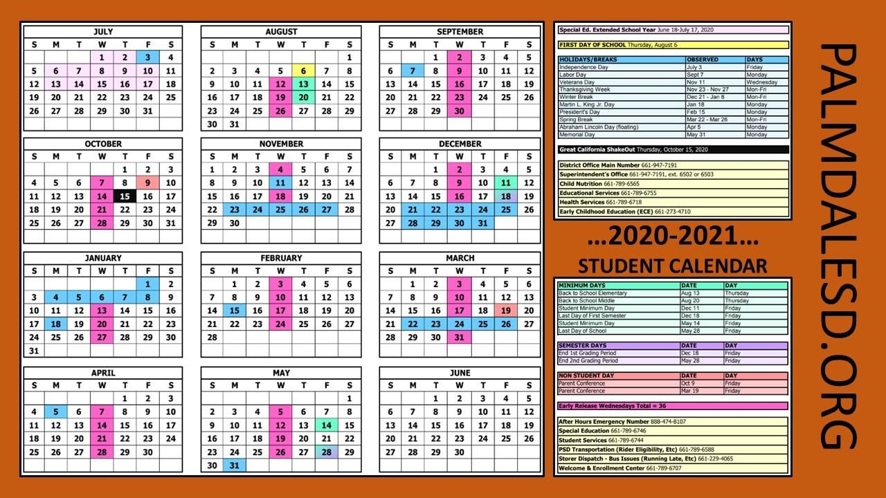 Harrison School District 2 Calendar 2021 | Printable Within 2021 Marion County Florida Spring Break