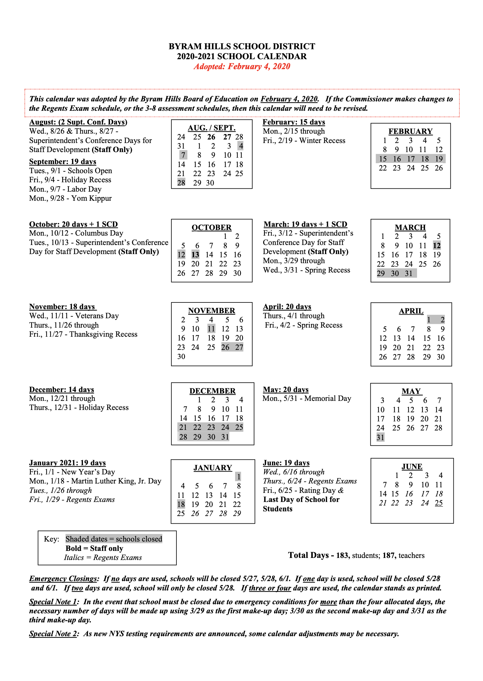 Hcc Calendar 2021 | 2021 Calendar with Greece Central School District 2021-2021 Calendar