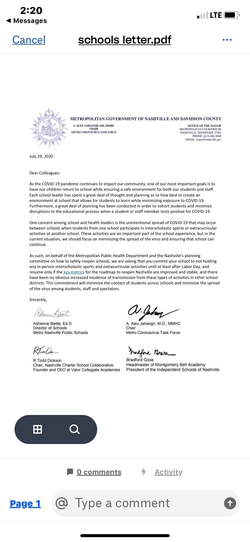 Health, Education Officials Ask Davidson County Schools To With Regard To Davidson County Tn School Candr 2021 2020