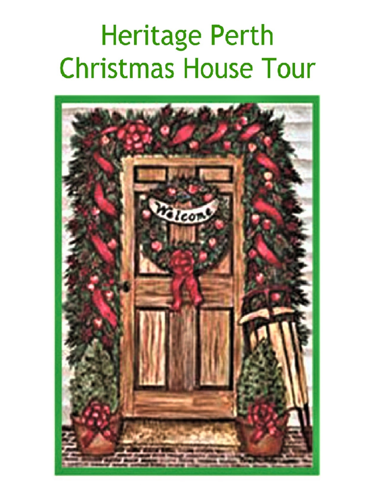 Heritage Perth Christmas House Tour - Lanark County Tourism Regarding College Of Lake County Calendar 2021