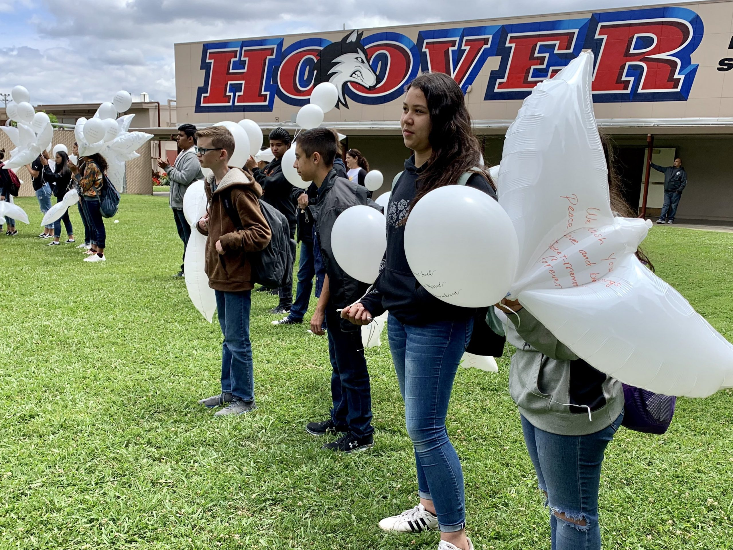 Hoover School Student Honored During Memorial Service Inside Merced City School District Calendar