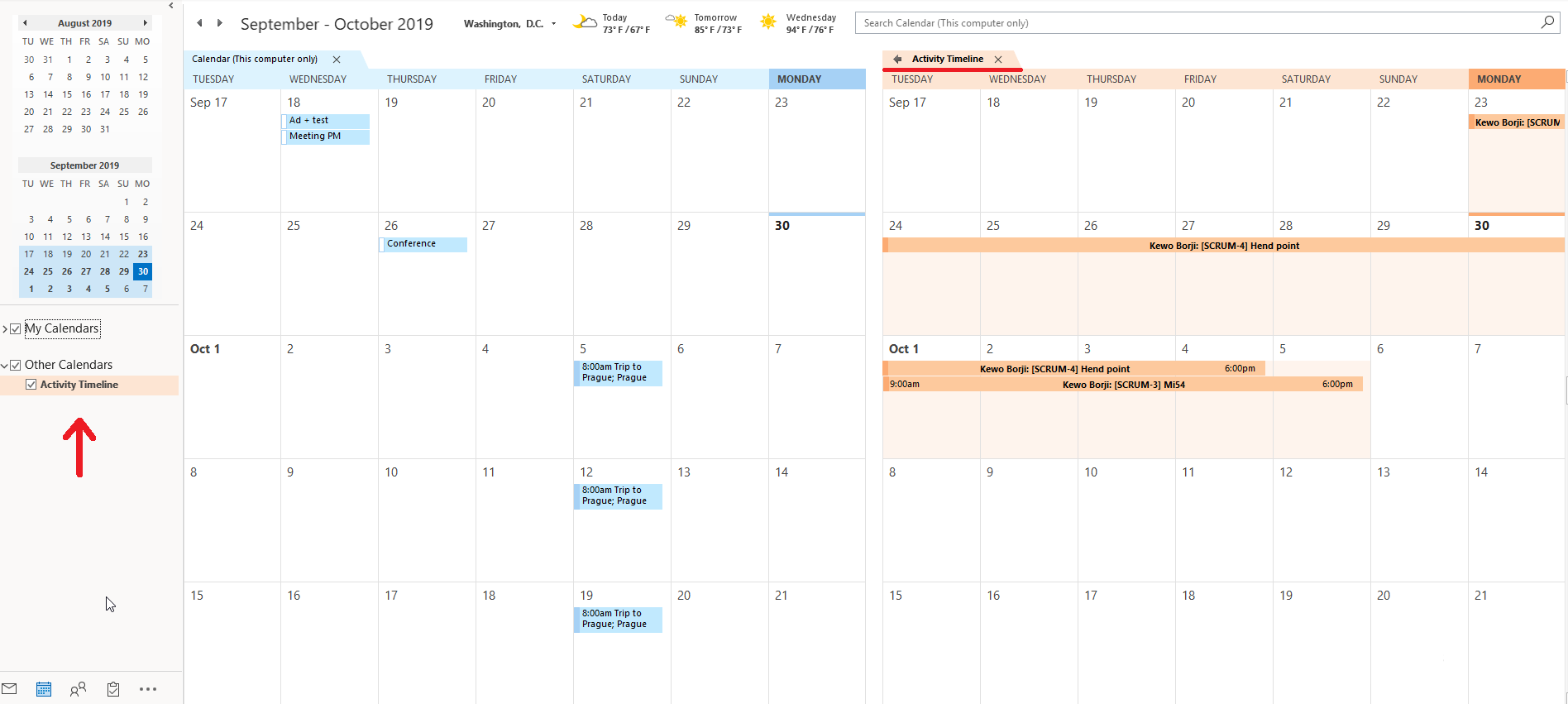 How To Display Jira Tasks In My Outlook Calendar? | Reliex Within Merge Outlook Calendar With Google