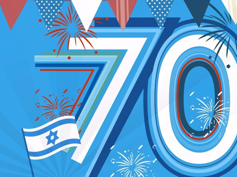 Israel Celebrates 70 Years Of Independence 18 April 2018 With Regard To What Year Is It According To The Jewish Calendar