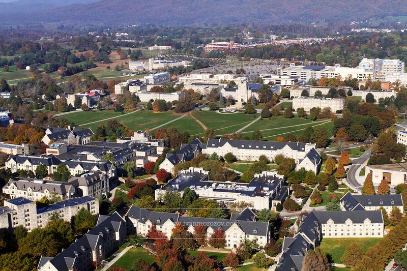 Ivan Morozov | 2013.10.26 | Aerial View Of Virginia Tech Pertaining To Virginia Tech Event Calendar