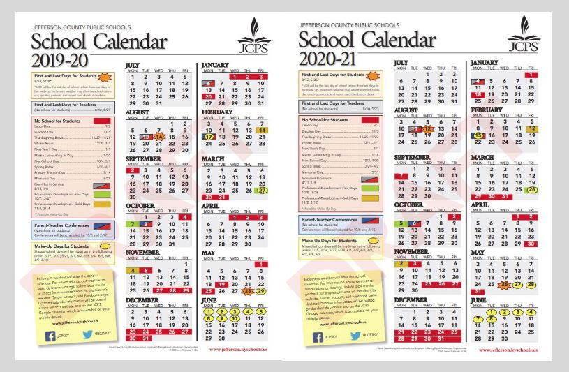 Jcps School Board Approves 2019 20 And 2020 21 Calendars Regarding Queensborough Community College Printable Calendar 2020