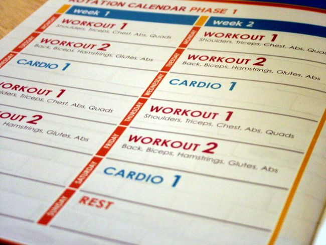 Jillian Michaels Body Revolution Workout Plan   Ad Workout Inside Jilian Michaels Body Revolution Calendar