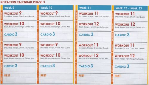 Jillian Michaels Ignite Phase 1 Calendar – Google Search Within Jilian Michaels Body Revolution Calendar