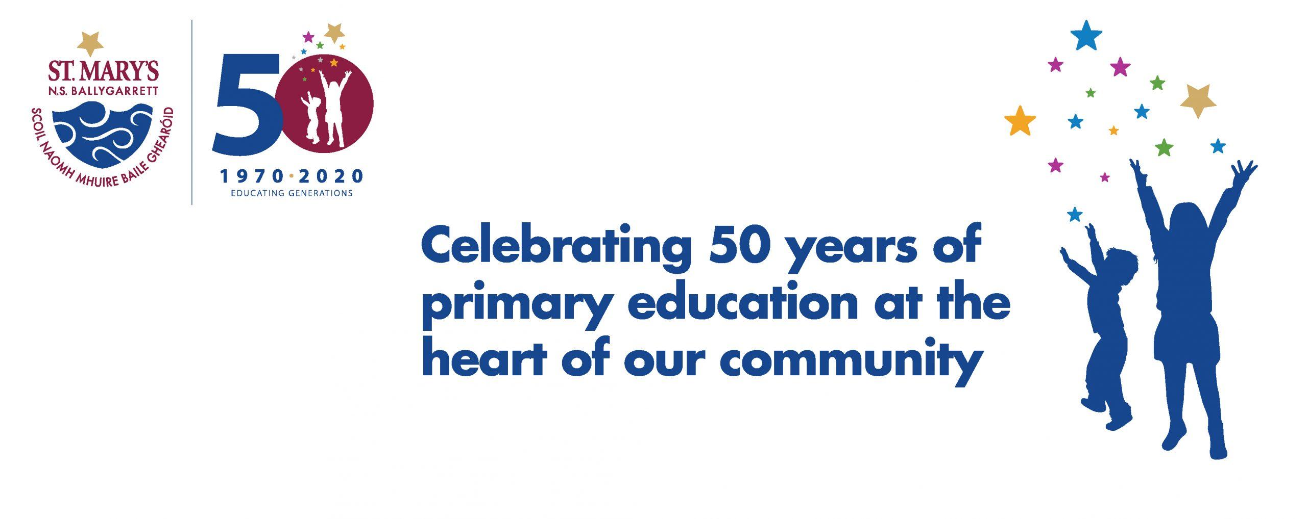 Jubilee 1970 2020 | St. Mary'S Ns Ballygarrett Regarding William And Mary School Calendar 2021 2020