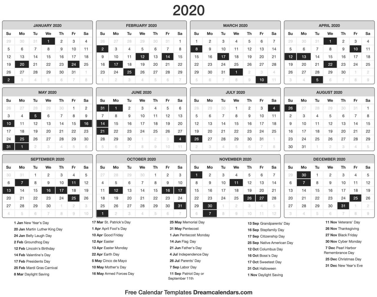 Julian Date 2021 | Calendar 2020 Template Within Julian Date Conversion 2021