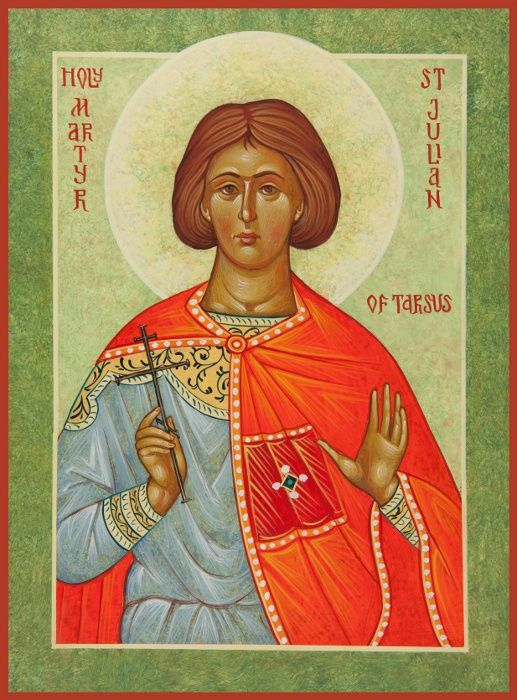 Julian The Martyr Of Tarsus This Martyr, Who Was Born To A Inside How Many Saints In Saint Of The Day Calendar