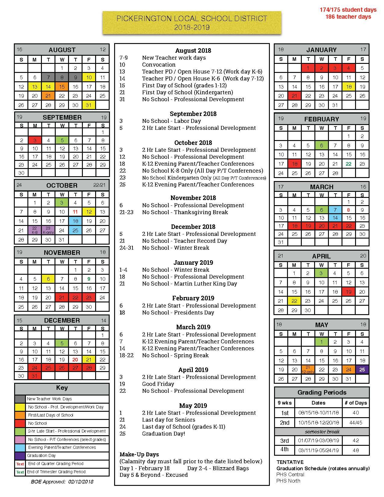 K12 Calendar | Calendar Fall 2020 with Woodbridge Township School District Student Calender2021-2020 School Year