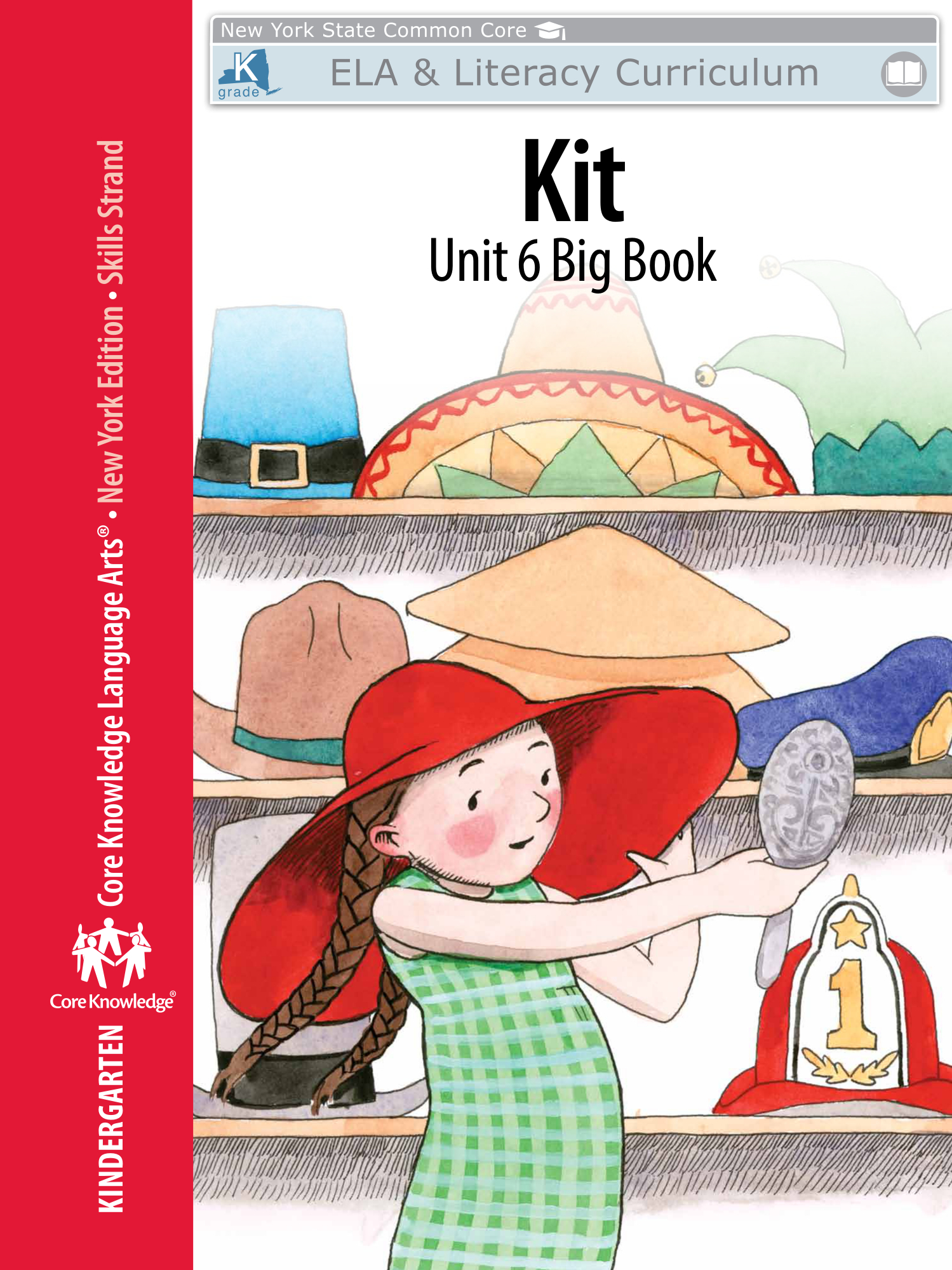 "Kindergarten: Skills Unit 6 Big Book ""Kit"" | Engageny With Nyc School Calendar 2015 16"