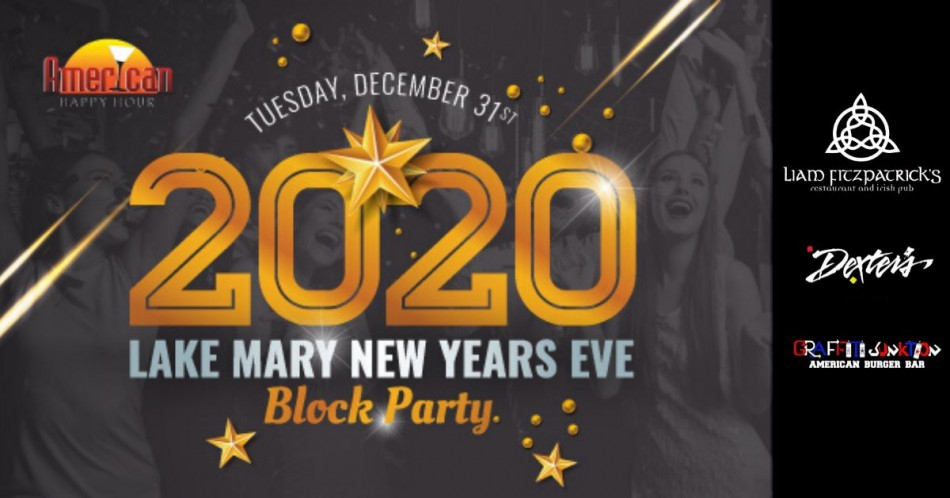 Lake Mary New Years Eve Block Party 2020, Orlando Fl - Dec Throughout When Is Spring Break For Lake County Fl
