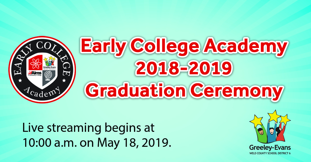 Livestream: Early College Academy 2018-2019 Graduation with regard to Jefferson County Colorado 2020 2021 School Calendar