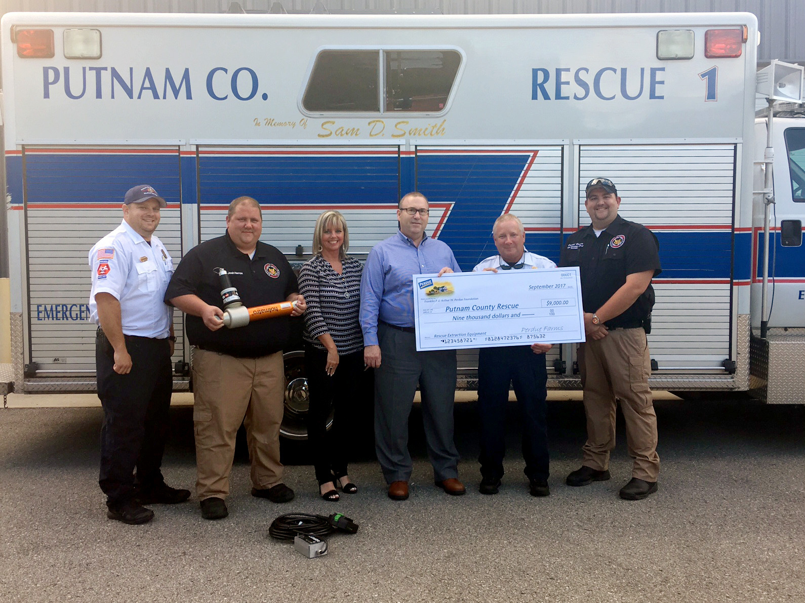 Major Donation Helps Putnam Rescue Squad | Herald Citizen With Putnam Co Schools Cookeville Tn Calendar