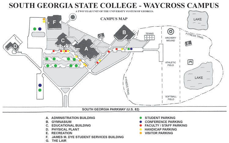 Maps – Campuses / Locations – South Georgia State College Within Georgia State University Holiday Schedule